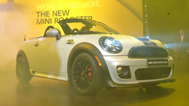 Illustration for article titled The 2013 Mini Roadster Is The Coupe's Sorority Girlfriend