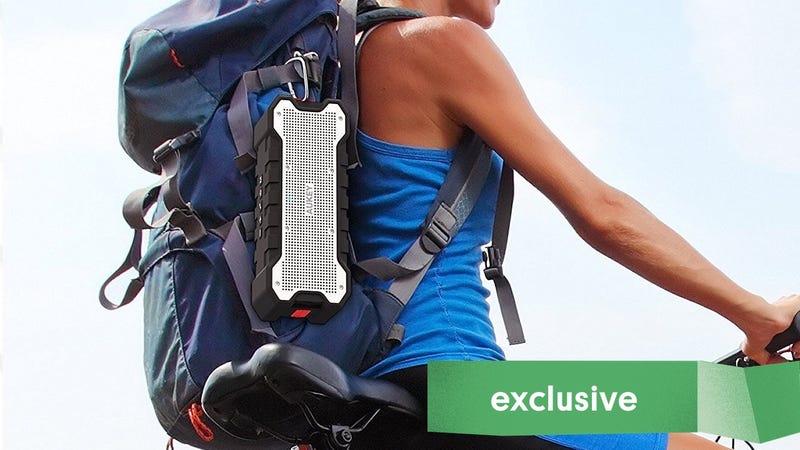 Aukey SoundTank Bluetooth Speaker   $21   Amazon   Promo code KINJA2AK