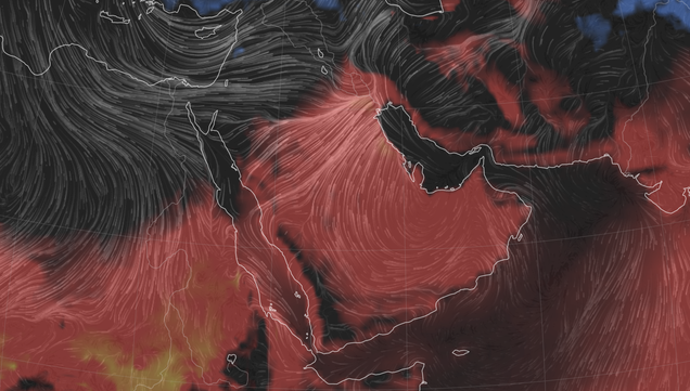 Kuwait Records Hottest March Temperature Ever Amid Dust Storms and Locusts