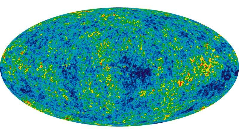 Image: NASA/WMAP Science Team/Wikimedia Commons
