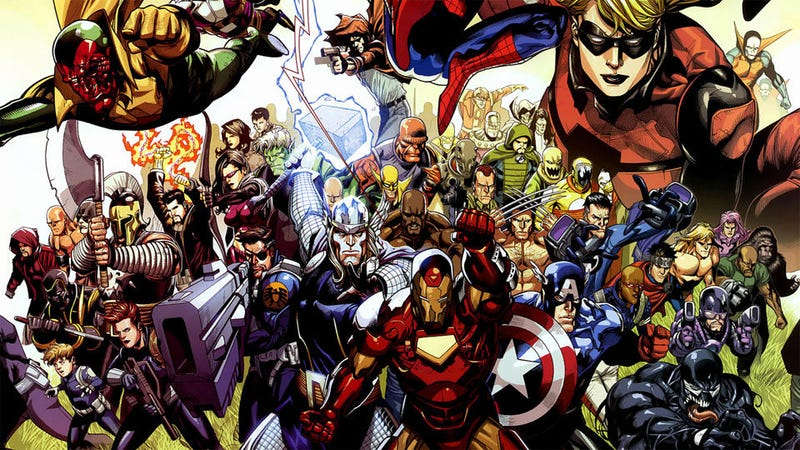 Illustration for article titled Avengers: Battle for Earth Video Game Assembling on Xbox 360 and Wii U This Fall