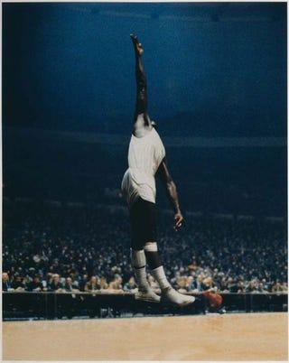 Illustration for article titled Paul Pfeiffer's Spiritual Basketball Artwork