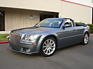 Illustration for article titled For $15,500, Will This 300C Drop-Top Flex Its Muscle?