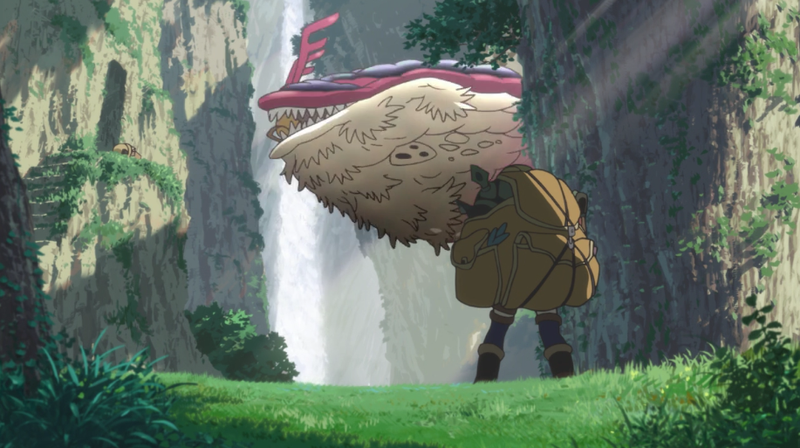 This Summer's Standout Anime Is About A Mysterious Pit Full Of Monsters