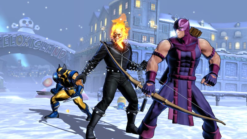Illustration for article titled Ultimate Marvel vs. Capcom 3 Features More Alternate Costumes, Midair X-Factor and, Yes, Some New Characters You May Have Heard About