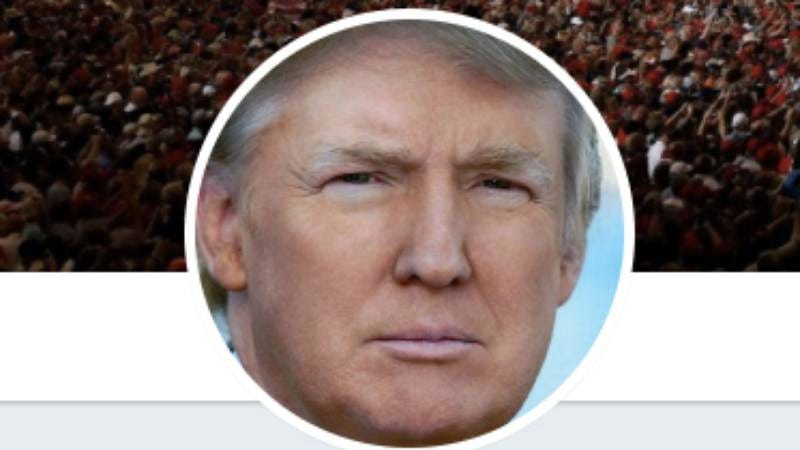 The president's new, round Twitter icon, which he presumably hates. (Screenshot: Twitter)
