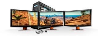 Illustration for article titled Digital Storm's 3D BlackOPS Package Wraps Your Games Across 5760×1080 3D Pixels