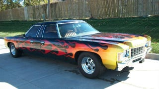 Illustration for article titled 1971 Chevrolet Kingswood is a one of a kind two way car