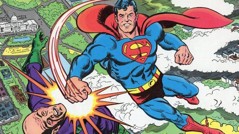 Why it's impossible not to love Superman