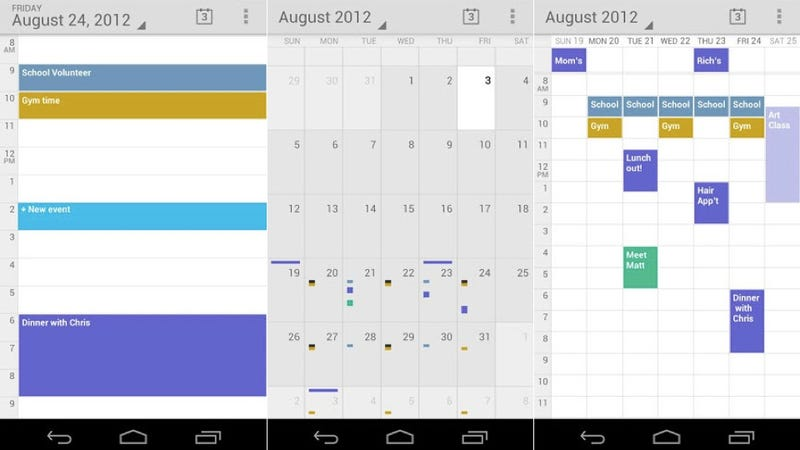 Illustration for article titled Google Calendar Is Now on the Play Store (But It Might Not Work on Your Phone)