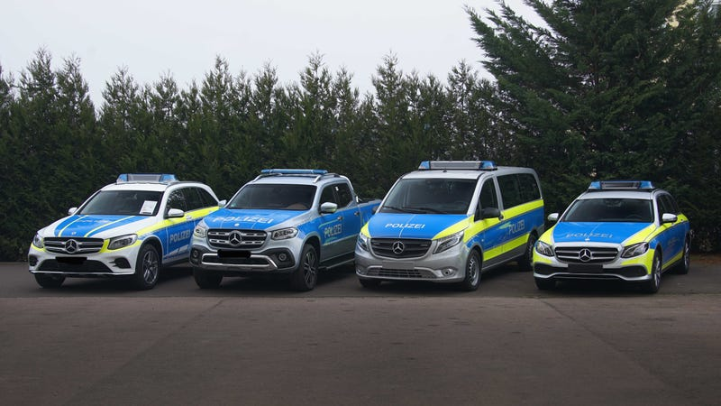 Illustration for article titled Here Are The New Proposed European Police Vehicles From Mercedes