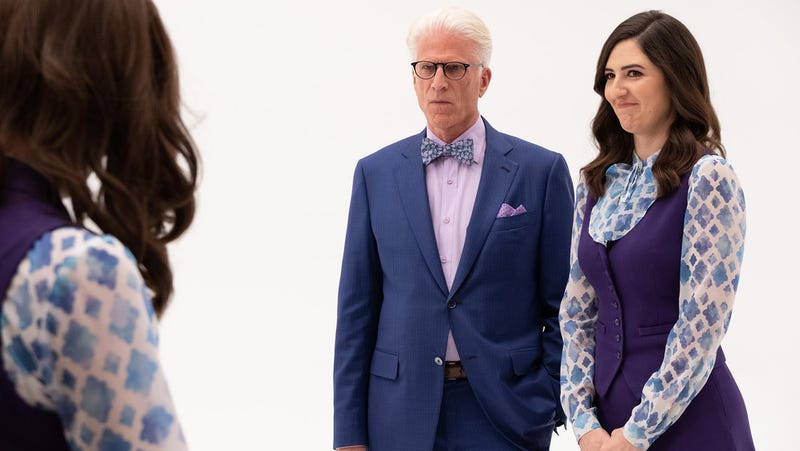 Welcome to the Void, Janet (D'Arcy Carden) and Michael (Ted Danson) and...Janet.