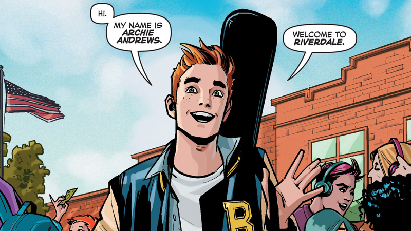 Illustration for article titled Here's Your First Look at the CW's Outstandingly Red-Headed Archie