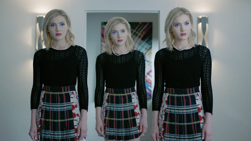 Skyler Samuels, Skyler Samuels, and Skyler Samuels in The Gifted