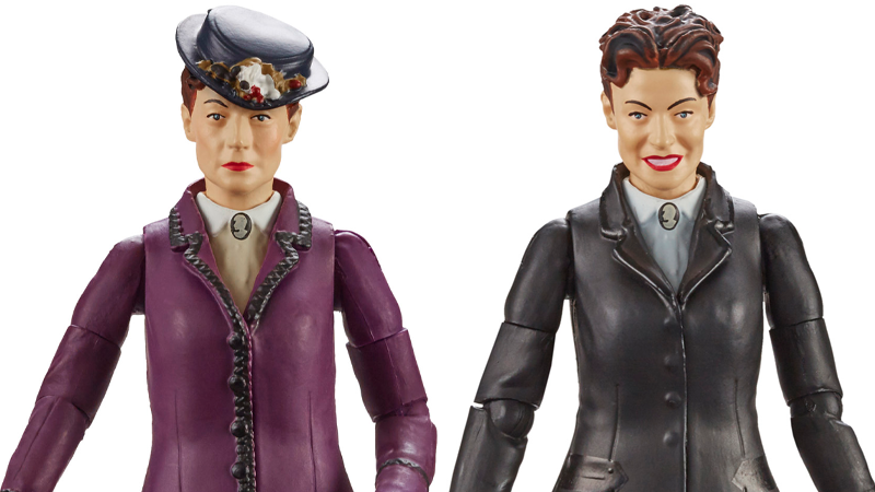 Illustration for article titled Doctor Who's Missy Now Has Two Action Figures, One Far More Petrifying Than The Other
