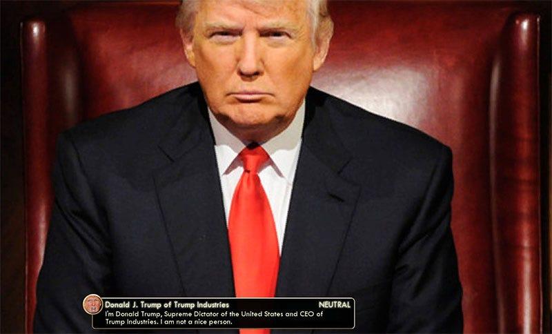 Illustration for article titled Donald Trump Makes Civilization V Great Again