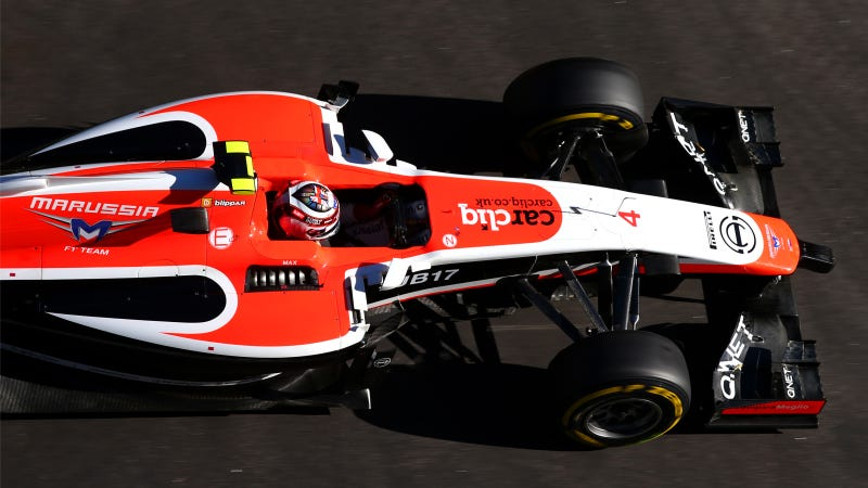 Illustration for article titled Marussia's Late Entry Hopes May Be Crushed By Inability To Use 2014 Car