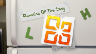 Illustration for article titled Remains of the Day: Microsoft Office Mobile Revealed