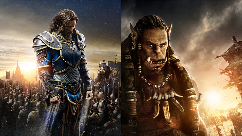 Illustration for article titled One Of These Warcraft Movies Posters Looks Better Than The Other