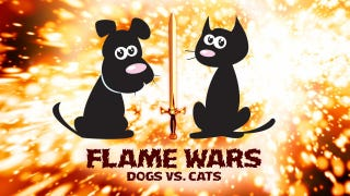 Illustration for article titled Dogs vs. Cats: Your Best Arguments