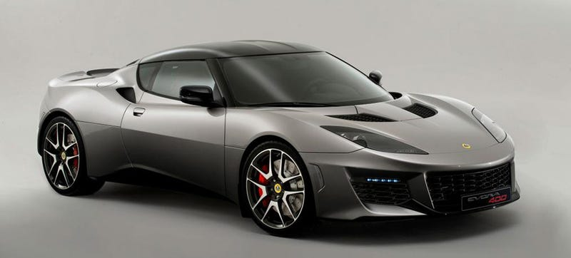 Illustration for article titled Lotus Evora 400: This Is It