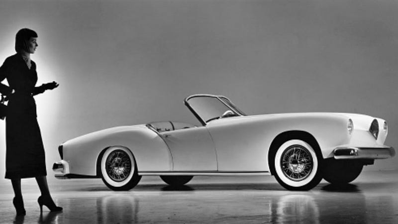 Illustration for article titled America's First Fiberglass Sports Car Was a Beautiful Failure