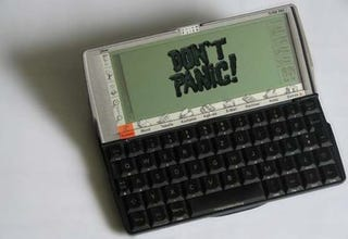 Illustration for article titled Offline Wikipedia Psion Mod is Hitchhiker's Guide to the Galaxy V1.0