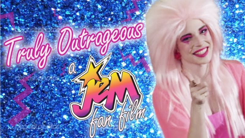 Illustration for article titled Get Involved, Internet: Help Jem fans make a better Jem movie