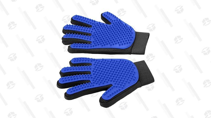 DELOMO Pet Grooming Glove | $9 | Amazon | Promo code L8Y3MMR7
