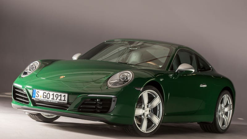 Illustration for article titled The One-Millionth Porsche 911 Is Exceedingly Lovely