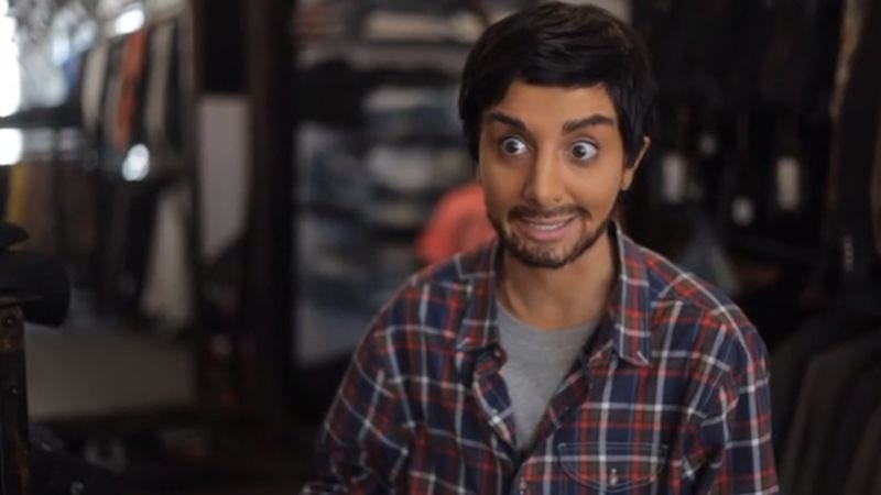 Illustration for article titled SNL's Nasim Pedrad does a killer Aziz Ansari impression in this unaired sketch