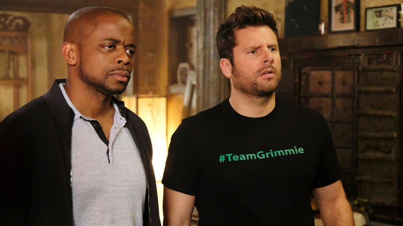 Dulé Hill and James Roday in Psych: The Movie (Photo: Alan Zenuk/NBCUniversal)