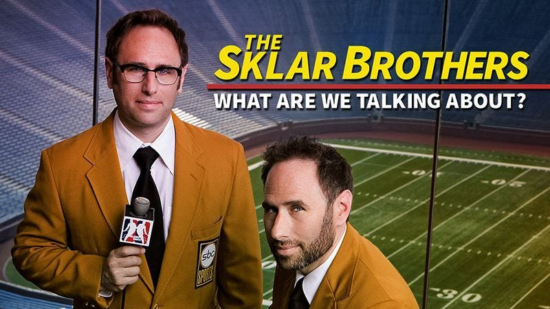 Illustration for article titled The Sklar Brothers' latest album is always frenzied and sometimes funny
