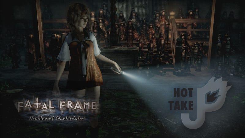 Illustration for article titled Hot Take: Fatal Frame: Maiden of Black Water (Wii U eShop)