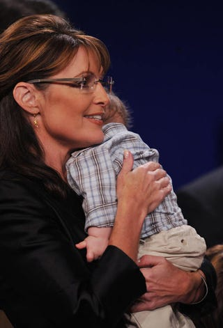 Illustration for article titled Sarah Palin Isn't Anti-Choice Enough For Americans For Life