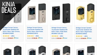 Outfit Your Home With a Smart Schlage Deadbolt, $140 Today Only