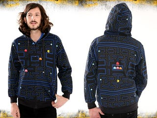 Illustration for article titled Pac-Man Hoodie Has Everything You Wanted Save 100% Natural Fibers