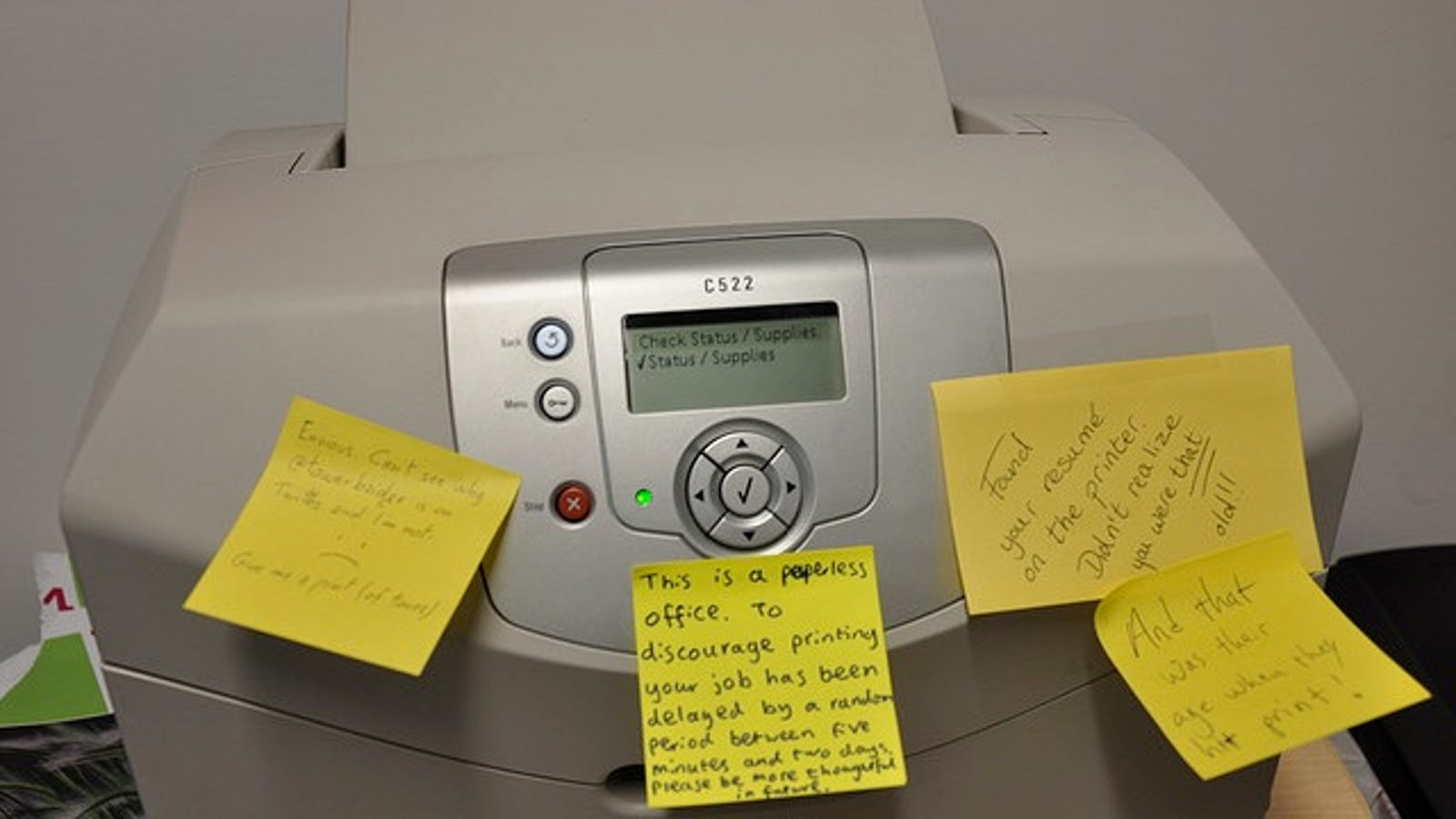 Get More Pages Out of Your Printer When the Toner is Low by Covering