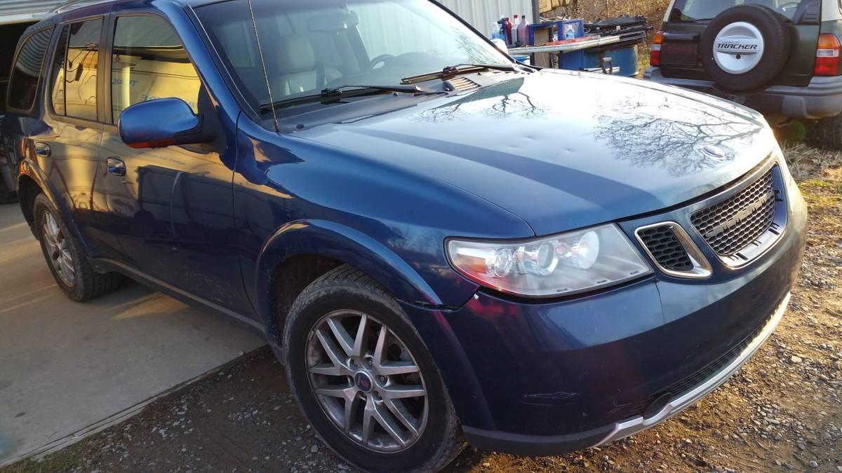 Saab saab 97x : For $2,000, Is This 2005 Saab 9-7x A Trailblazer Of Value?