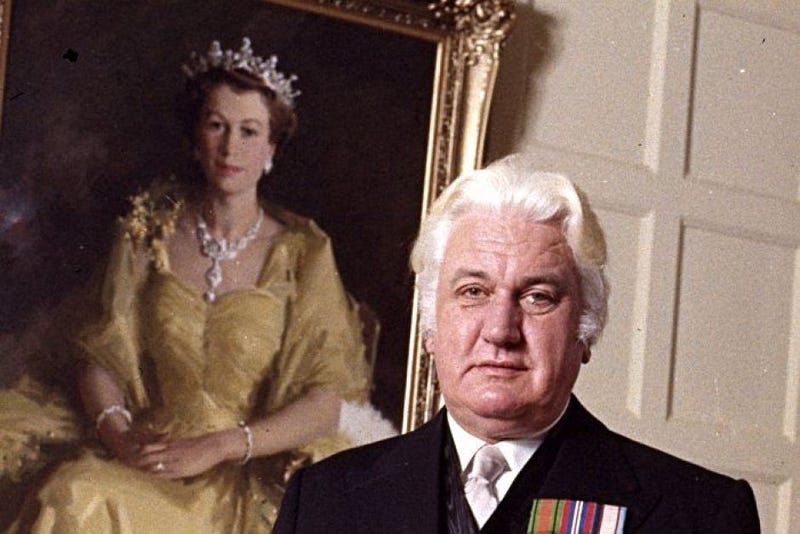 Former Governor-General of Australia John Kerr (Australia National Archives)