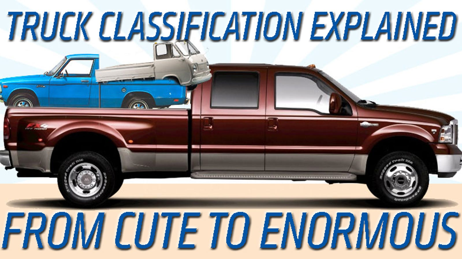 Everything You Need To Know About Truck Sizes Classification
