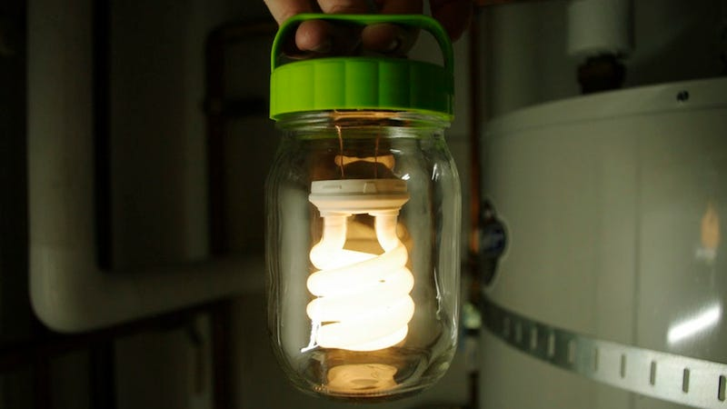 Illustration for article titled This DIY Jar Lantern Is Portable, Powerful, and Long-Lasting