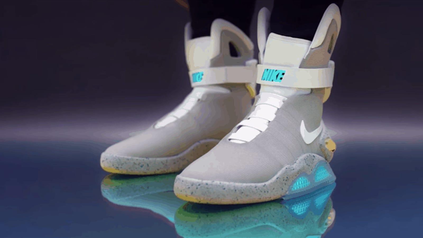 Ahora puedes tener las zapatillas de Back to the Future fabricadas por Nike (si tienes suerte)
