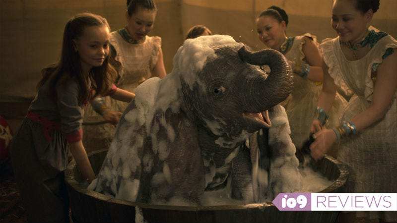 Baby elephant being washed? Yes, adorable, but that's about it.