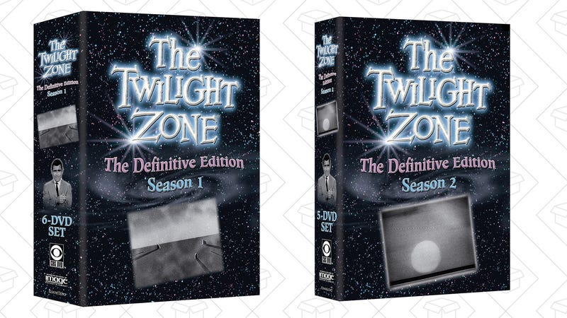 Buy Two The Twilight Zone Box Sets for $50