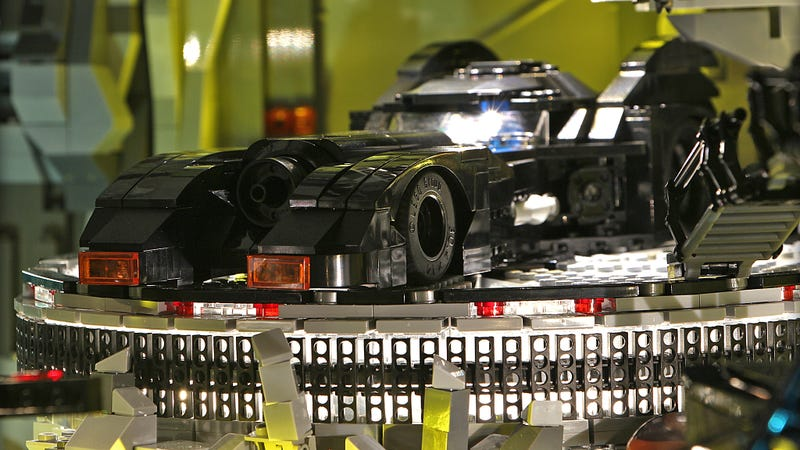The Endless Details In This Custom Lego Batcave Are Completely