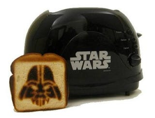 Illustration for article titled Vader Toaster is Most Awesome Bread-Branding Device Yet