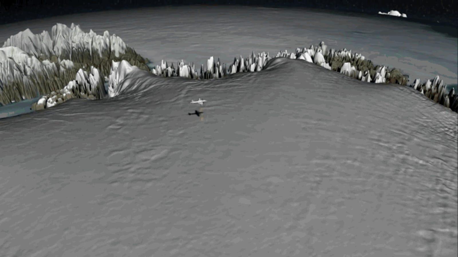 NASA recrea por 1ª vez en 3D las miles de capas de hielo de Groenlandia
