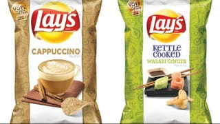 Illustration for article titled Lays Releases Finalists For New Chip Flavor, Including Cappuccino