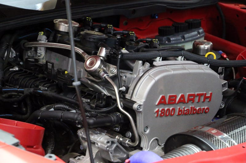 The Abarth 124 Rally Has The Best Engine Bay At Geneva
